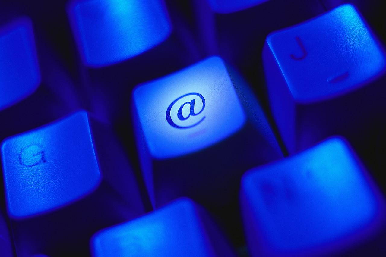 """""""At"""" Key on Computer Keyboard"""