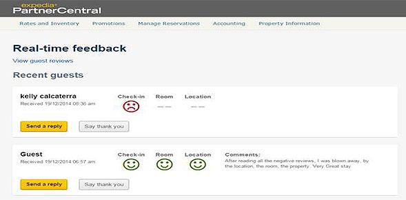 il nuovo tool di expedia per le recensioni hotel negative