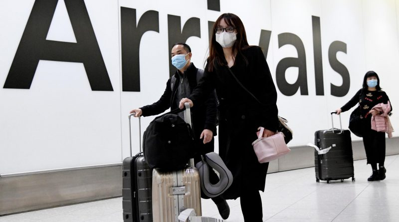 crollo dei viaggi - coronavirus