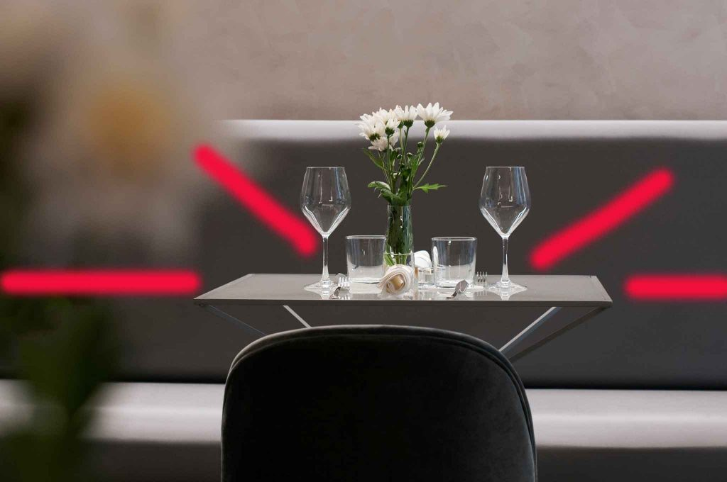 distanze per ristoranti