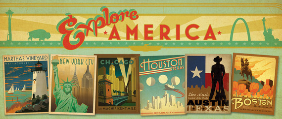 Classic American Travel Posters New York City